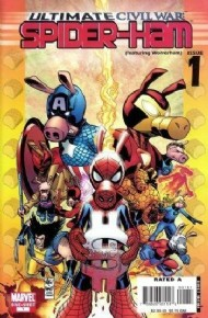 Ultimate Civil War: Spider-Ham 2007 #1