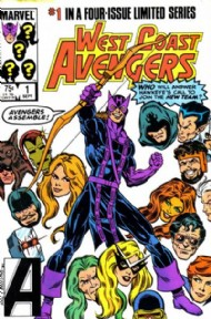 West Coast Avengers (1st Series) 1984 #1