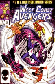 West Coast Avengers (1st Series) 1984 #3