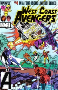 West Coast Avengers (1st Series) 1984 #4