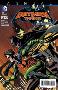 Batman and Robin (2nd Series) Annual 2013 #2