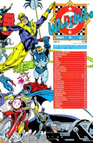 Who's Who Update '87 1987 #1