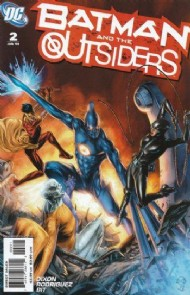 Batman and the Outsiders (2nd Series) 2007 - 2011 #2