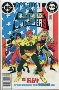 Batman and the Outsiders Annual 1984 #1