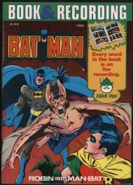 Batman Book and Recording Set 1976