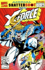 X-Force (1st) Annual 1992 #1