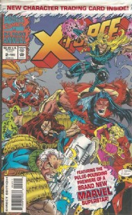 X-Force (1st) Annual 1992 #2