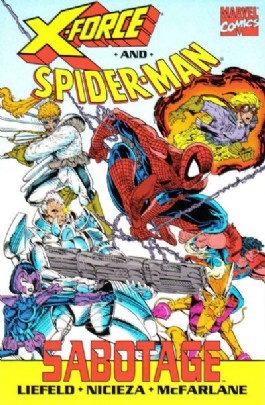 X-Force and Spider-Man: Sabotage #1995