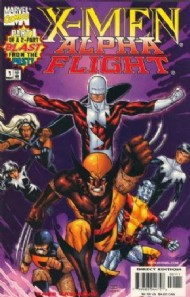 X-Men/Alpha Flight (Series Two) 1998 #1