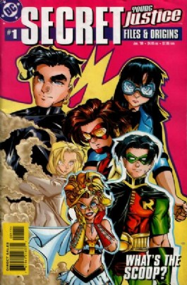 Young Justice Secret Files and Origins #1