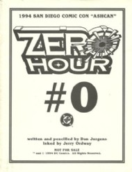 Zero Hour: Crisis in Time Ashcan 1994