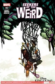 Disney Kingdoms: Seekers of the Weird 2014 - #3