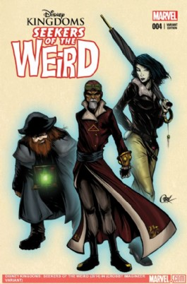 Disney Kingdoms: Seekers of the Weird #4
