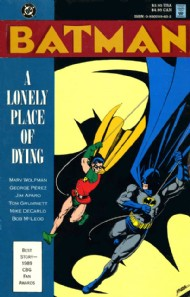 Batman: a Lonely Place of Dying 1990