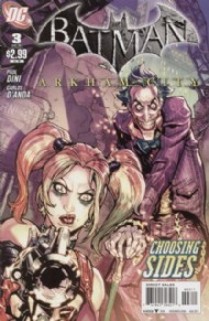 Batman: Arkham City 2011 #3