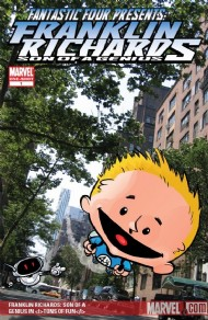 Franklin Richards: Son of a Genius in Tons of Fun 1999 #0