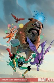 Lockjaw and the Pet Avengers 2009 #1