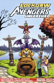 Lockjaw and the Pet Avengers Unleashed 2009 #1
