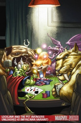 Lockjaw and the Pet Avengers Unleashed #2