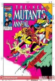New Mutants Annual 1984 - 1991 #2