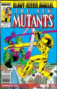 New Mutants Annual 1984 - 1991 #3