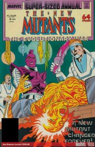 New Mutants Annual 1984 - 1991 #4