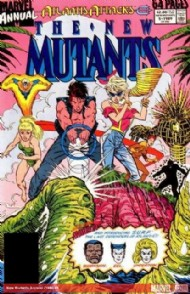 New Mutants Annual 1984 - 1991 #5