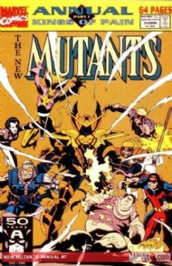 New Mutants Annual 1984 - 1991 #7