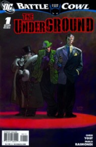 Batman: Battle for the Cowl: the Underground 2009 #1