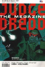 Judge Dredd - the Megazine (Volume 1) 1990 - 1992 #6