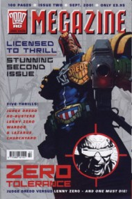 Judge Dredd - the Megazine (Volume 4) 2001 - 2002 #184