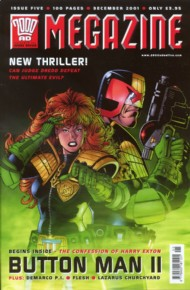 Judge Dredd - the Megazine (Volume 4) 2001 - 2002 #187