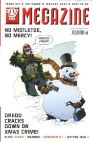 Judge Dredd - the Megazine (Volume 4) 2001 - 2002 #188