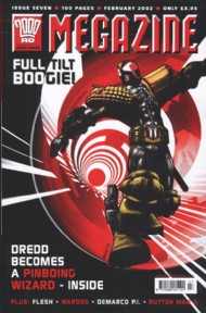 Judge Dredd - the Megazine (Volume 4) 2001 - 2002 #189
