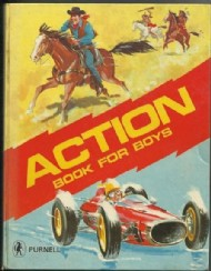 Action Book for Boys 1969 #1969