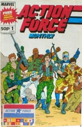 Action Force Monthly #1