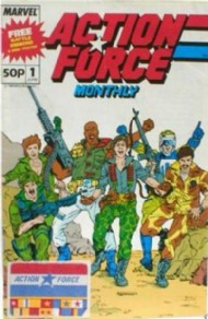 Action Force Monthly 1988 - 1989 #1