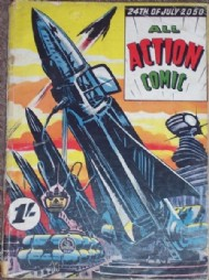 All Action Comic 1956 #1