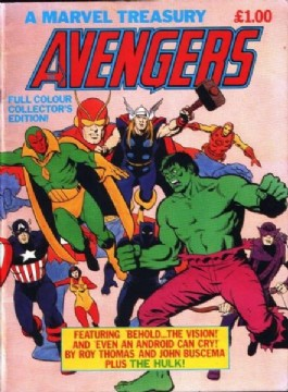 Avengers, a Marvel Treasury #1982