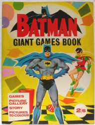 Batman Giant Games Book 1966 #1966