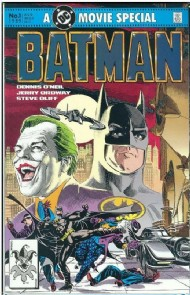 Batman: the Official Comic Adaptation of the Warner Bros. Motion Picture 1989 #1