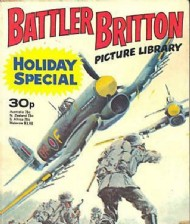 Battler Britton Picture Library Holiday Special  #1977