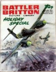 Battler Britton Picture Library Holiday Special  #1978