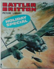 Battler Britton Picture Library Holiday Special  #1981