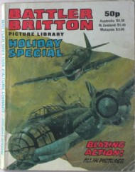Battler Britton Picture Library Holiday Special  #1982