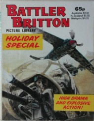Battler Britton Picture Library Holiday Special  #1984
