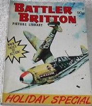 Battler Britton Picture Library Holiday Special  #1989