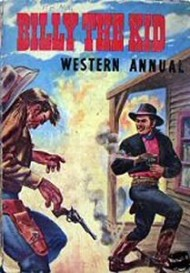 Billy the Kid Western Annual  #1954