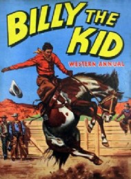 Billy the Kid Western Annual  #1955