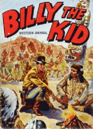 Billy the Kid Western Annual  #1956